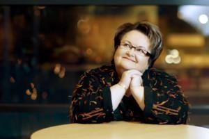 Kirjailija Aino Suhola